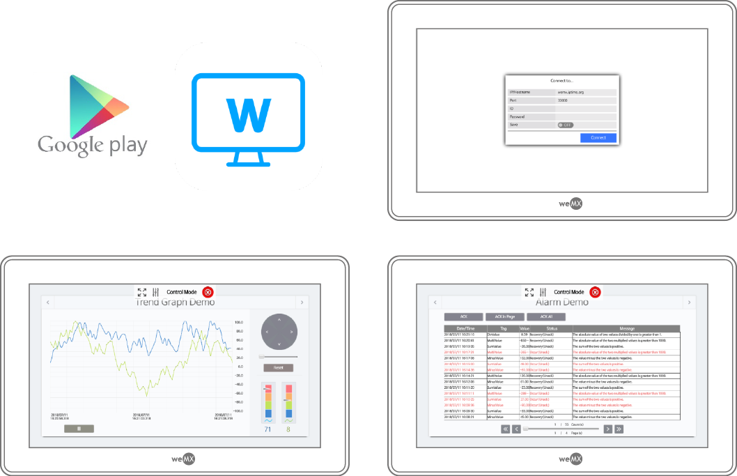 weMX Android - weMX You imagine, we realize it